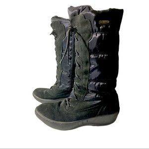 PAJAR ELENA FRONT LACE SIDE-ZIP BOOT SIZE 9-9.5